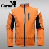 Men Fashion Design Orange Softshell Jacket