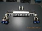 exhaust for BMW X6 E71 LUMMA style muffler