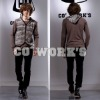 2012 Fashion Men's Knitted Overcoat