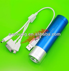 M3 4000mAh Power Bank with LED flashlight ForiPhone5,Samsung Galaxy S2/S3