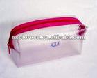 Zipper pvc cosmetic bag with handle pvc cosmetic bag