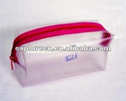Zipper pvc cosmetic bag with handle pvc cosmetic bag