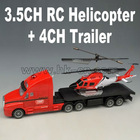 3.5CH RC Helicopter+4CH Trailer