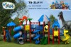 GS approved plastic playground 2012 ZLJ111