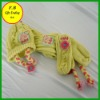 FB011848#Acrylic knitted fleece/scarf /gloves/hats three sports sets hot selling