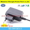 eur 3V1.2A plug in DC power adapter supply