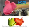 Lovely frog silicone oven mitt