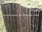Factory Direct Natural Black Bamboo Fencing cloture en bambou cercas de bambu recinzione di bambu