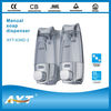Liquid soap dispenser, ABS double manual soap dispenser