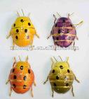 pewter ladybug ornament