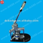 badge making machine of 37mm manual press badge making machine