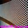 Plastic lattice fencing