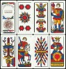 100% plastic Italy game cards/promotional cards