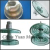 standard & fog type toughen glass insulator