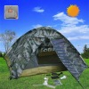 Solar Tent for Camping with fun & LED light