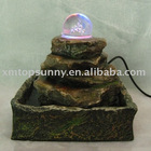 Mini Resin Fountain for Tabletop Decoration