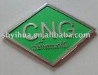environmental protection green paint and luminous Scutcheon