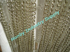 12.75mm silver color metal door chain curtain