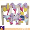 Newest discovery activity musical sprial baby crib toys,baby bed toys,stroller toys
