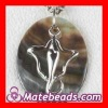 Sterling Silver Shell Pendant SP0013