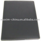 PU leather file holder for hotel using with bag and pen clip inside M-4007