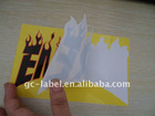 PVC sticker label printing