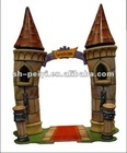 Cartoon castle for kids
