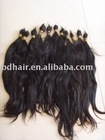 100% Remy human hair/ natural hair bulk/ raw hair bulk