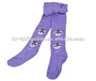 2012 New design cute terry kid's winter tights