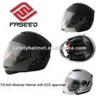 Modular helmet with ECE standard and intergrated sun visor FS-503