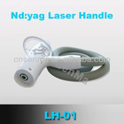 YAG laser handle for tattoo removal