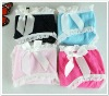 wholesale cute young girl womens solid color lace bow tie panty briefs underwear drawers thong G-string T-backs