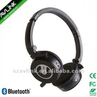 Over-the -head Bluetooth Stereo Headphones with 3.5mm audio jack
