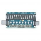 TM1638 8X Green Light Digital Tube + 8X Key + 8X Double Color LED Module
