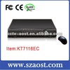 16 CH DVR 2ch audio model KT7116EC CCTV security products