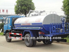 Dongfeng 4000L sewage suction tank truck