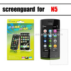 screen guard for nokia n5 transparency ultra clear screen protector screen guard