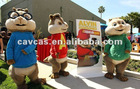 alvin chipmunks mascot costume performance costume