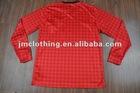 2012/2013 PLAIN long sleeve soccer jersey football jersey shirt uniforms