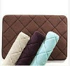 Luxury door memory foam bath mats