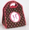 Neoprene lunch bag with coustomized pattern design for promotion