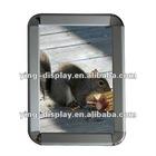 High quality A1 A2 A3 A4 aluminum 32mm round-corner picture frame