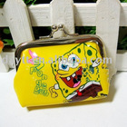 Wholesale gao hot sale sponge bob Wallet coin purse change purse F0275