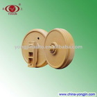 Idler roller for bulldozer