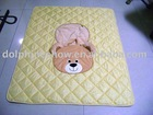 Baby gym mat with cushion cover