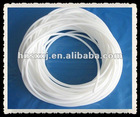 white rubber hose