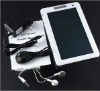 """4GB build in price less than 40$ 7"""" inch ebook reader (touch button)"""