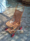 PE rattan baby stroller hand-made