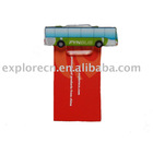 Bus shape plastic magnetic clip