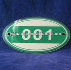 High quality customized elegant acrylic door plate